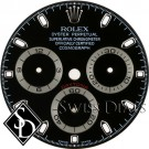 Men's Rolex Daytona Black Index Hour Marker Dial SS