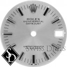 Midsize Rolex Silver Stick Marker Dial Stainless Steel