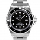 Men's Rolex Sea-Dweller Stainless Steel Black Dial 60min Bezel Oyster Band 40mm