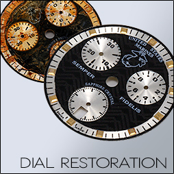 watch dial refinishing