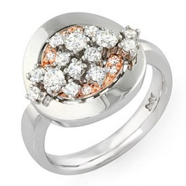 Two-tone Fashion Ring