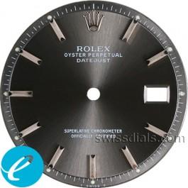 Men's Rolex Datejust Non-quick Slate Stick Dial SS