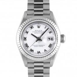 Rolex Datejust Lady - 18k White Gold President Watch