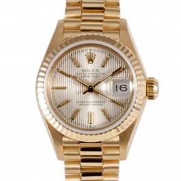 Rolex Datejust Lady - 18k Yellow Gold President Watch