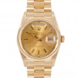 Rolex Day-Date President - 18k Yellow Gold Watch