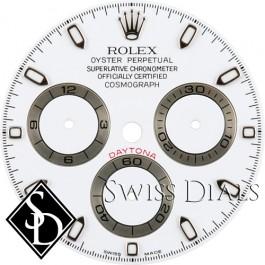 Men's Rolex Daytona White Index Hour Marker Dial SS