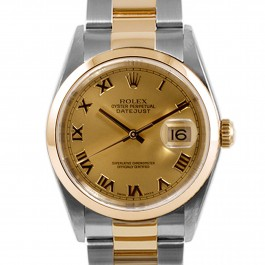 Rolex Datejust 36mm - Steel and Gold Watch