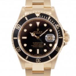 Rolex Submariner – 18k Yellow Gold Watch
