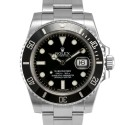 Men's Rolex Submariner Stainless Steel Black Dial Ceramic Black 60min Bezel Oyster Band New Style