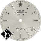 Men's Rolex Airking Silver Stick Marker Swiss Made Dial SS