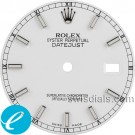 Men's Rolex White Stick Hour Marker Dial SS