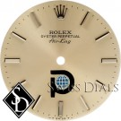 Men's Rolex Airking Silver Stick Marker Pool Intairdril T Swiss T Dial SS