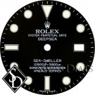Men's Rolex Deepsea Black Index Marker Dial SS