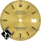 Men's Rolex Datejust Champagne Stick Marker Swiss Made Dial Two-Tone