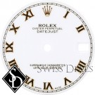 Midsize Rolex Roman Numeral Swiss Made Dial Two-tone