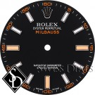 Men's Rolex Milgauss Black Index Luminous Dial SS
