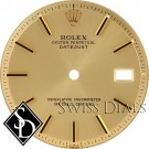 Men's Rolex Datejust Non-quick Champagne Stick Marker Dial Two-tone