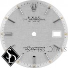 Men's Rolex Datejust Non-quick Silver Linen Stick Marker Dial Stainless Steel