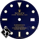 Men's Rolex Submariner Blue Index Marker Swiss Made Dial Two-Tone